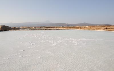 Marais salants au lac Afdera