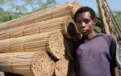 Jeune garçon éthiopien
