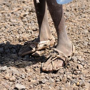 """Détails de chaussures """"éthiopiennes"""""""
