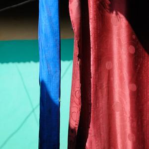 Tissus colorés