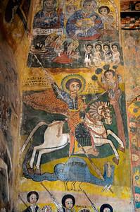 St Georges terrassant un dragon