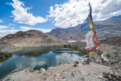 Lo Bame Tso lake and area