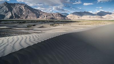Dunes between Samtanling and Hunder