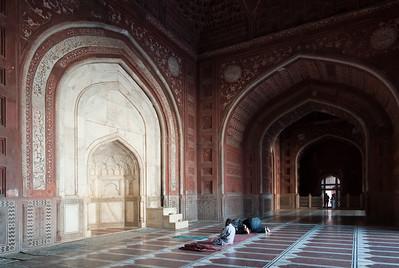 Taj Mahal - Mosquée