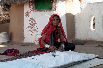 Désert Thar - Femmes Bishnoïs