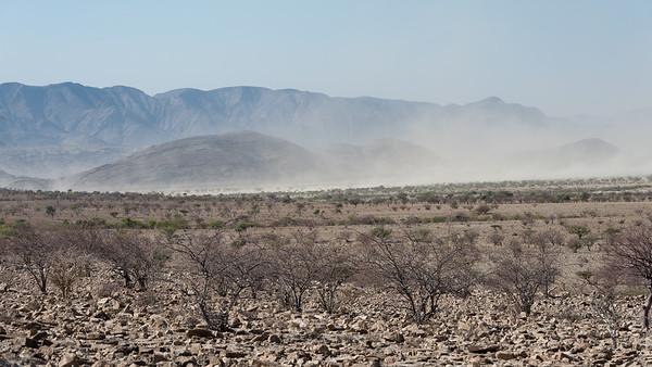 On the road to Puros - Sesfontein area