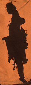 Himba silhouette