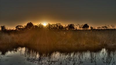 """Sunrise, Lever de soleil - Location 17°52'37"""" S 23°19'4"""" E"""