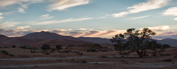 Deadvlei landscapes