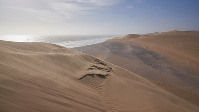 Cars in the dunes