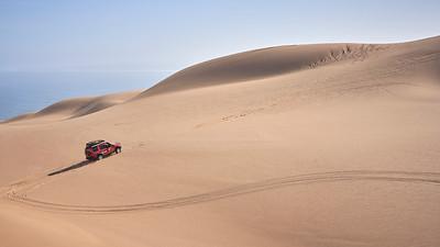 Somewhere between Lüderitz and Walvis Bay
