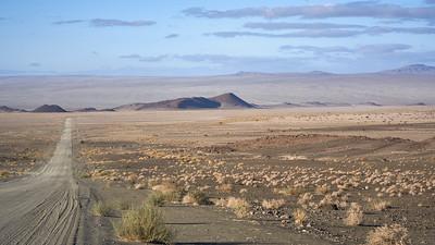 On the way to Ais Ais National Park