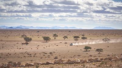 Landscape at The Eagle's Nest chalets