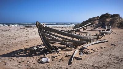 Village abandoned by fishermen