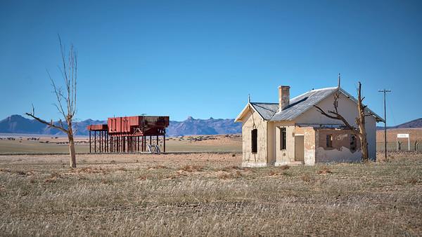 Garug abandoned railway station