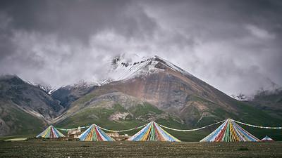Landscapes after Karo La Pass