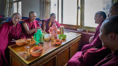 Ganden Monks