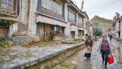 Gyantse old city