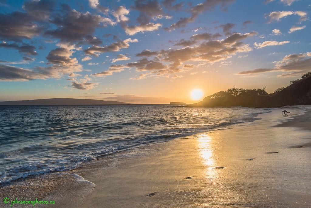 Sunset Over Big Beach