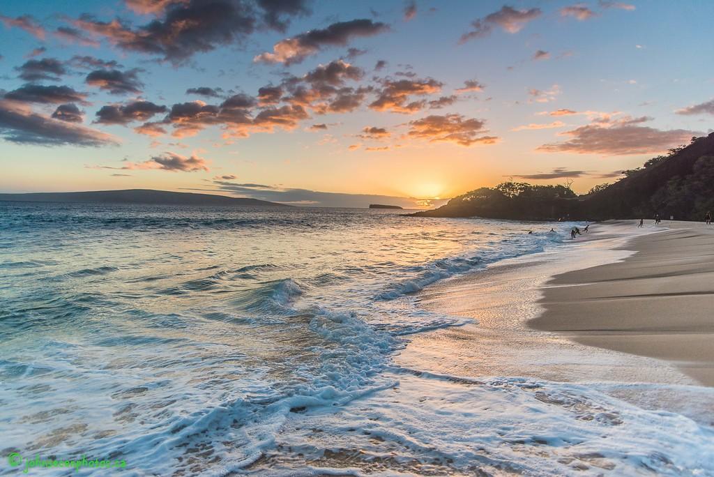Sunset Over Big Beach 2