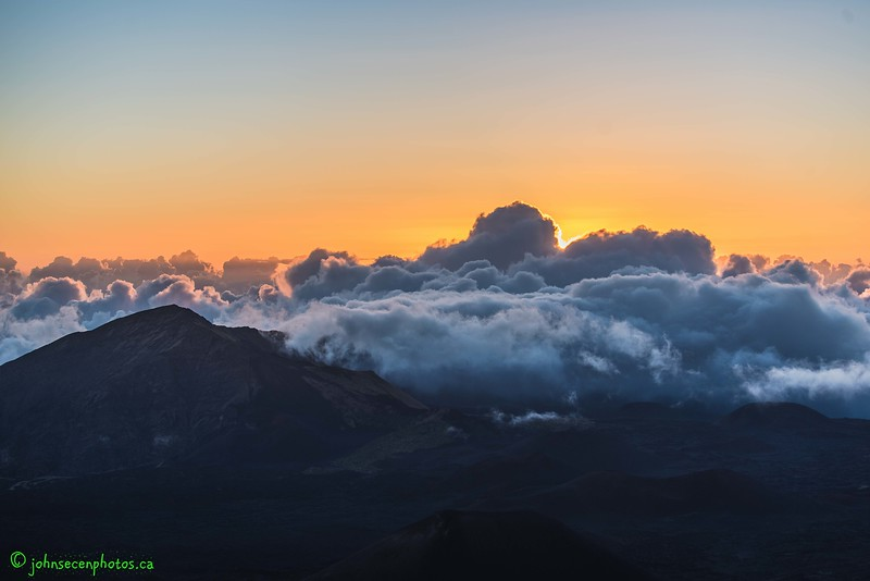Sunrise Over Mount Haleakala 2