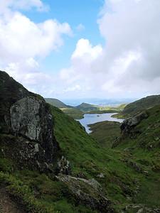 Lake at Mount  Ulriken Image I.D. #:  U-13-###