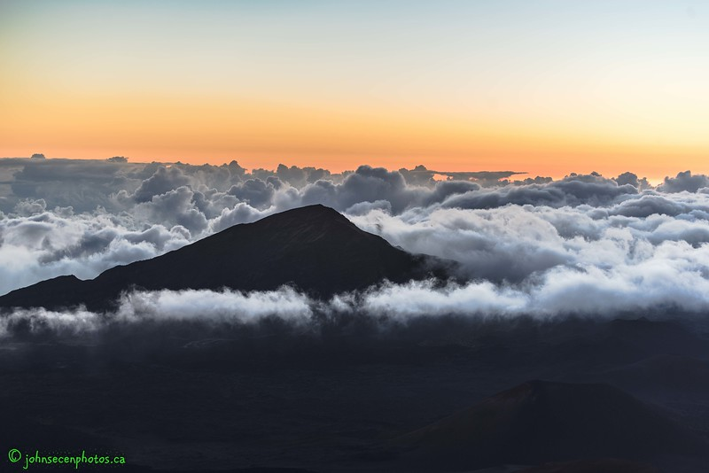 Sunrise Over Mount Haleakala