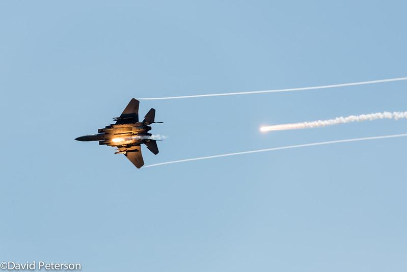 F15 Mock Attack