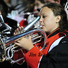 WPHS Marching Band at football game vs. Lincoln, September 2009.