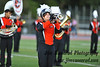 Annie, 1st Trumpet, WPHS Marching Band. WPHS Marching Band at Football Game vs. Suffern
