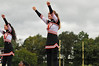 Cheerleaders at Varsity Football Game: White Plains High School vs. John Jay Fishkill, September 29, 2012