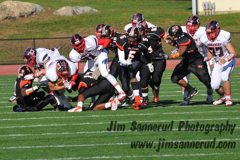 2011 Turkey Bowl, White Plains Tigers vs. Archbishop Stepinac Crusaders, Thursday, November 24, 2011