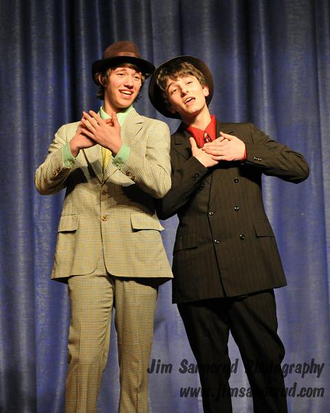 Guys and Dolls, White Plains High School, 2009.