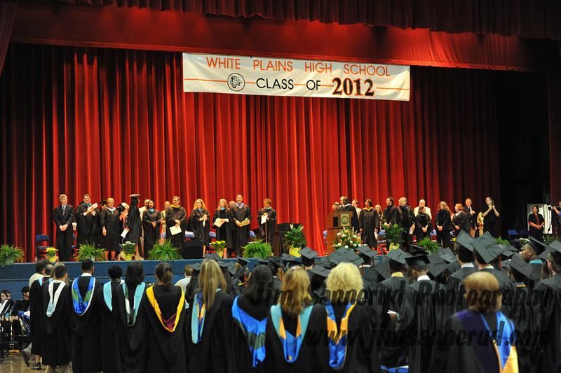 White Plains High School Class of 2012 Graduation, June 21, 2012.