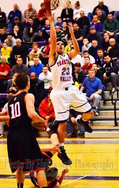 2015 WPIAL Basketball Playoffs  CV defeats USC