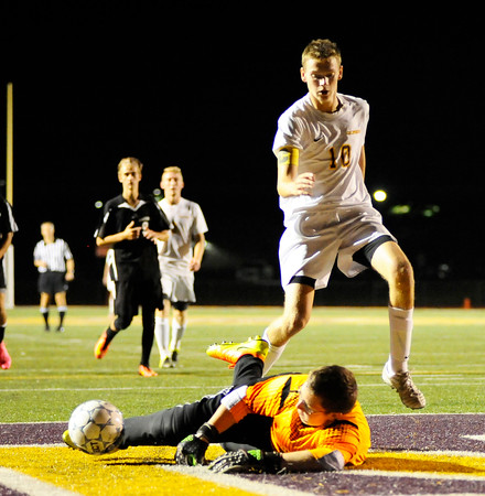 WPIAL Boy's Soccer  Monessen at California Area