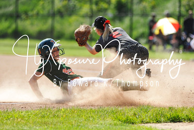 WPIAL Softball Playoffs at Baldwin High School  Yough v. West Allegheny