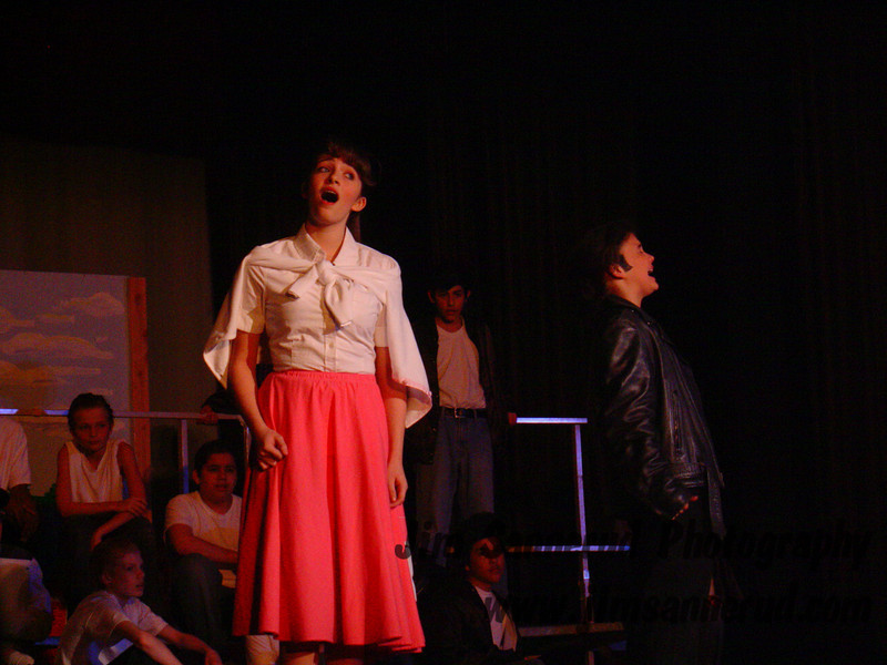 Grease! at White Plains Middle School, 2007