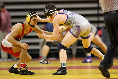 Action from Harold Nichols Open wrestling meet at Hilton Coliseum in Ames, Iowa on November 5, 2017. Photo by Wesley Winterink.