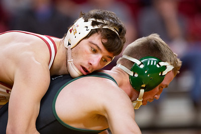 Scene from NCAA Wrestling Meet between Utah Valley and Iowa State at Hilton Coliseum in Ames, Iowa on February 3, 2019.  Photo © Wesley Winterink.