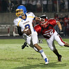 Garner runs over Middle Creek 46 to 29 Friday night September 7, 2012. (photo by Jack Tarr)