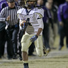 Reidsville's #4 Lyquan Graves runs the ball as Carrboro holds off Reidsville 20 to 16 in round 3 of the 2012 NCHSAA football playoffs Friday night November 16, 2012. (Photo by Jack Tarr)