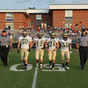 South Johnston Captains take the field as Clayton Steamrolls South Johnston 41 to 14 Thursday night August 30, 2012. (photo by Jack Tarr)