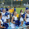 Clayton Cheerleaders during the game as Clayton Steamrolls South Johnston 41 to 14 Thursday night August 30, 2012. (photo by Jack Tarr)