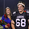 Homecoming King and Queen. Cardinal Gibbons crushes Southern Vance 45 to 7 Friday night October 5, 2012. (Photo by Jack Tarr)