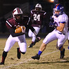 Wakefield held off Wake Forest-Rolesville 40 to 38 in the first round of the 2012 NCHSAA football championship Friday night November 2, 2012. (Photo by Jack Tarr)
