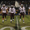 Wakefield Captains for the coin toss. Wakefield tames Heritage 42 to 21 Friday night October 26, 2012. (Photo by Jack Tarr)