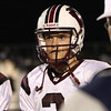 Connor Mitch before the coin toss. Wakefield tames Heritage 42 to 21 Friday night October 26, 2012. (Photo by Jack Tarr)