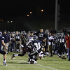 Heritage's Greg Clifton (31)catches a pass for a big gain. Wakefield tames Heritage 42 to 21 Friday night October 26, 2012. (Photo by Jack Tarr)