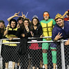 Wakefield fans before the start of the game.Wakefield tames Heritage 42 to 21 Friday night October 26, 2012. (Photo by Jack Tarr)